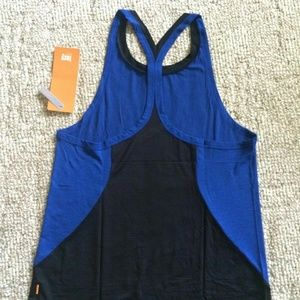 NWT Lucy Final Mile Racerback Tank - Curacao Blue